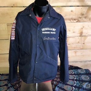 Vintage 1970s High School Marching Band Jacket.  M